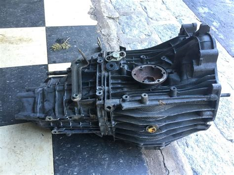 Porsche Boxster 986 5-speed Manual Transmission. Opened