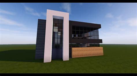 tuto minecraft comment faire une maison moderne