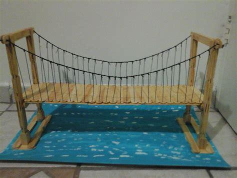 como hacer un puente con palitos de paletas imagenes de puentes de palitos pictures to pin on