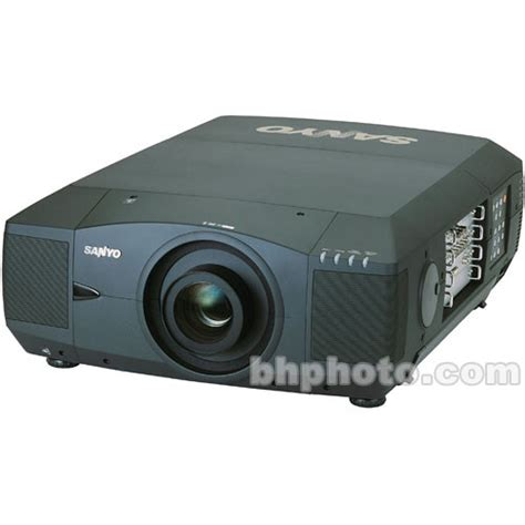 sanyo plc xf42 xga projector without lens plc xf42 b h photo