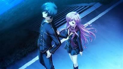 Anime Guy Boy Touching Twilight