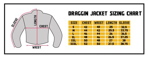 draggin jeans sizing chart