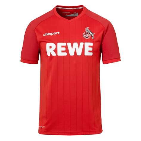 V., commonly known as simply fc köln or fc cologne in english (german pronunciation: Uhlsport 1. FC Köln Herren Auswärts Trikot 2019/20 rot ...