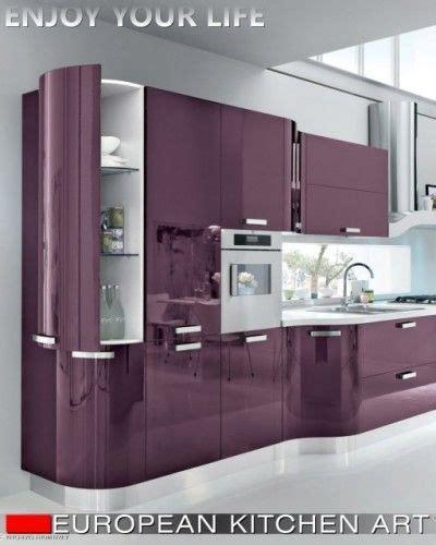 italian design kitchen cabinets decoracion de cocinas en color morado 8 curso de 4865