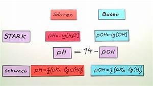 Pks Wert Berechnen : ph wert berechnungen chemie online lernen ~ Themetempest.com Abrechnung