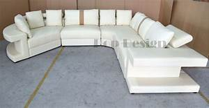 Canape panoramique en cuir vancouver pop designfr for Canapé d angle sortie d usine