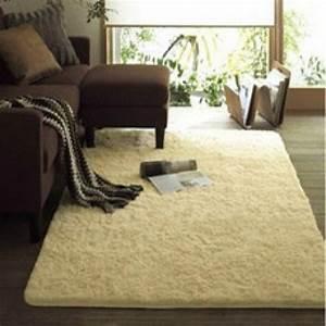 Tapis Beige Salon : tapis pour salon beige ~ Teatrodelosmanantiales.com Idées de Décoration