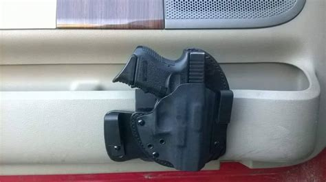 car pistol holster removable velcro attachment rps tactical tactical firearm solutions