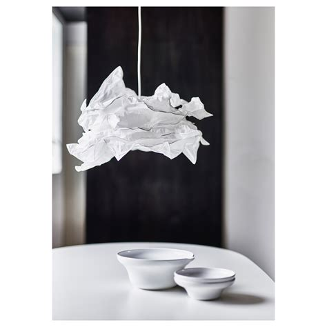 krusning pendant l shade white 43 cm ikea