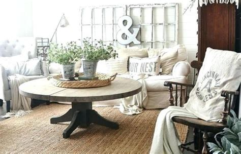 Farmhouse Living Room Rug Style Dining Rugs Image