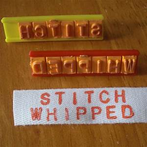 make your own clothing labels dollar store crafts With how to make your own clothing labels