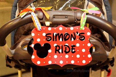 disney love stroller identification tag happiness