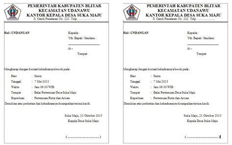 contoh amplop undangan resmi contoh isi undangan
