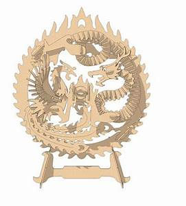 The Dragon and Phoenix - Mythical MakeCNC com