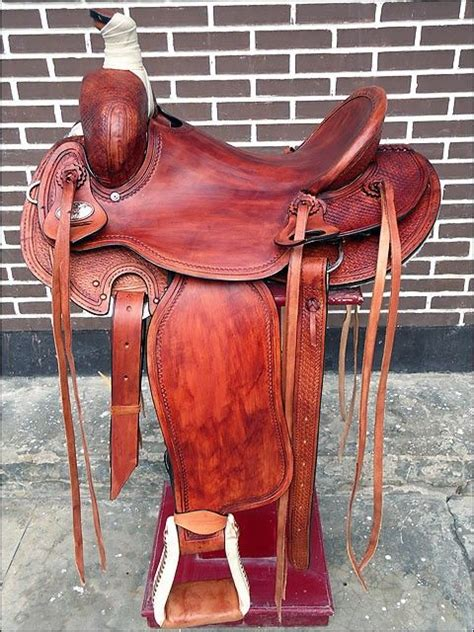 hilason roping saddles ranch saddle trail brand king