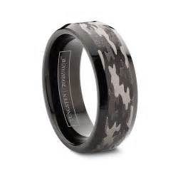 black wedding bands for camo black wedding rings for with tungsten ipunya