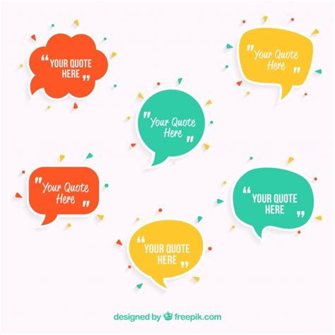 thought bubble powerpoint template speech bubbles template vector free download