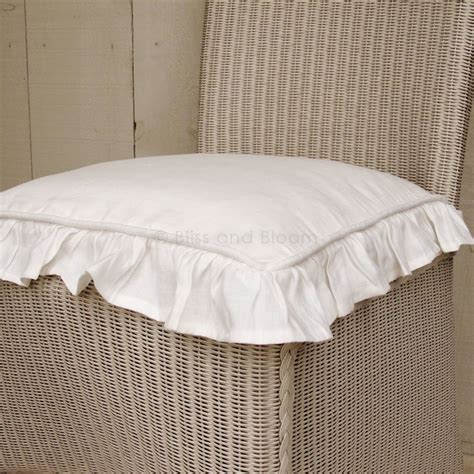 white tie bow seat cushion bliss and bloom ltd