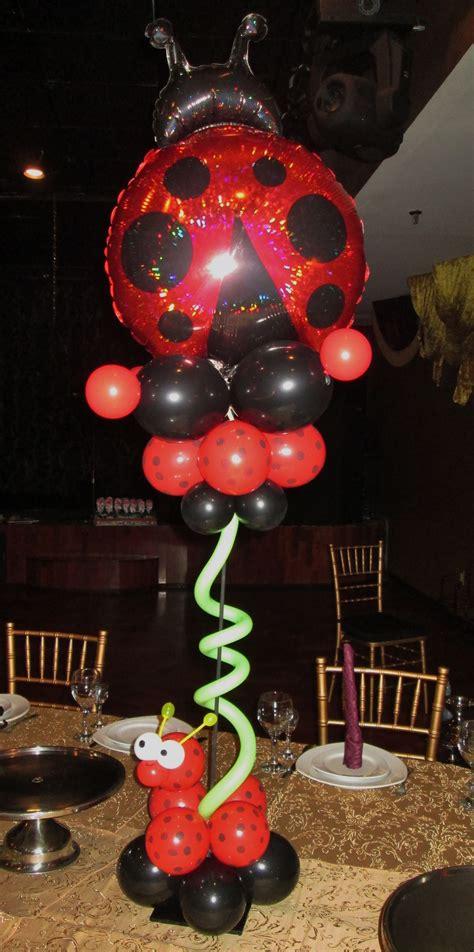 Ladybug 1st Birthday Centerpiece By Wwwtotal Partycom
