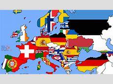 Concours Eurovision de la chanson La carte des pays les