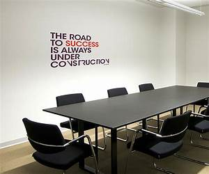 stickers the road to success pour decorer grande salle de With decoration salle de reunion