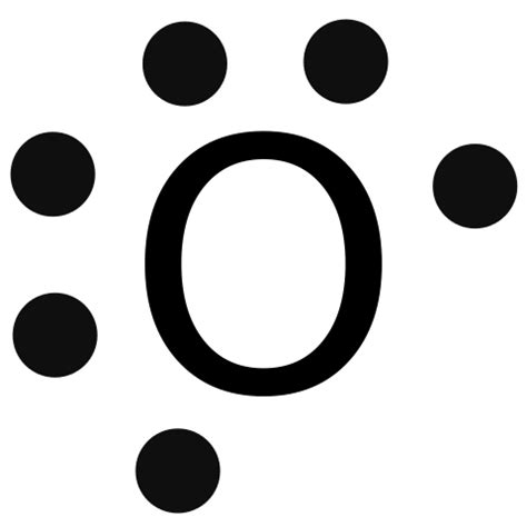 Electron Dot Diagram For Oxygen by File Lewis Dot O Svg Wikimedia Commons