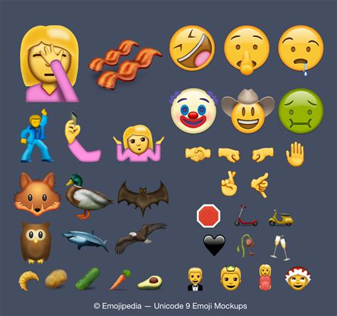 unicode 9 emoji iphone s ios 10 update might include new unicode 9 0 emoji