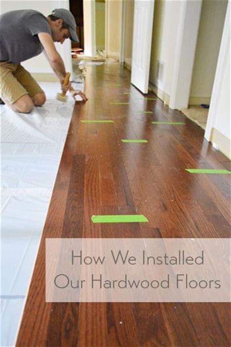 hardwood floors floors and installing hardwood floors on