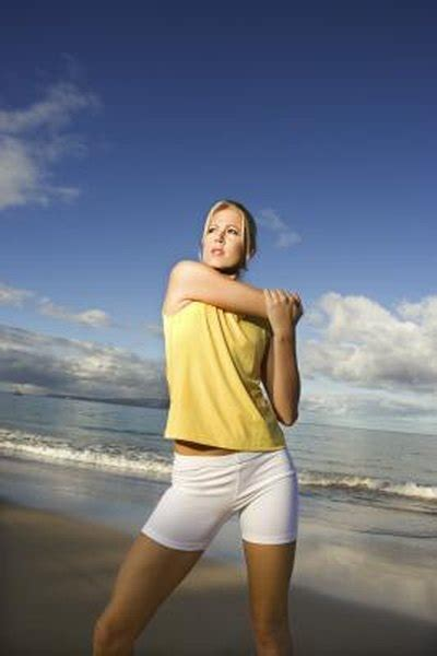 exercises  increased shoulder flexibility woman