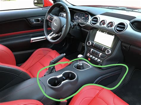 leather wrapped center console pn