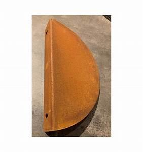Wandregal 30 Cm Breit : wandregal halbrund gebogen aus rost 30 cm breit metallmichl ~ A.2002-acura-tl-radio.info Haus und Dekorationen