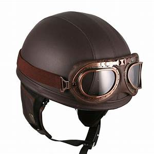 [DCPRICE] Motorcycle Goggles Vintage Style Retro Brown ...