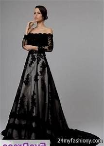 vintage black lace wedding dress 2016 2017 b2b fashion With black vintage wedding dresses