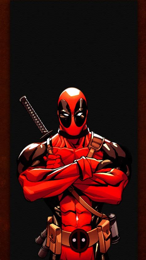 deadpool iphone wallpaper deadpool illustration iphone 6 wallpaper ipod wallpaper