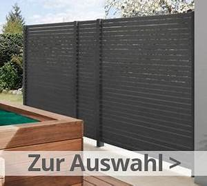 Sichtzäune Aus Holz : sichtschutzzaun gartenzaun online kaufen bei zaun ~ Watch28wear.com Haus und Dekorationen