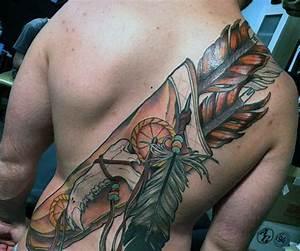 100 Native American Tattoos For Men - Indian Design Ideas