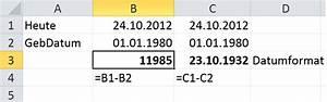 Excel Jahre Berechnen : peter 39 s tech blog witzige einfache aufgaben f r den ~ Themetempest.com Abrechnung