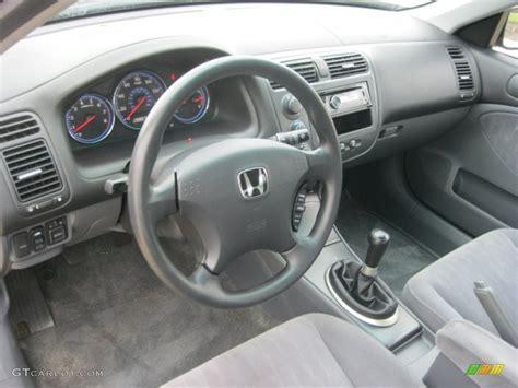 2003 honda civic interior gray interior 2003 honda civic ex sedan photo 83990190