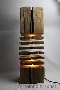 Lampen Aus Holz Selber Bauen : treibholz altholz designlampe ~ Lizthompson.info Haus und Dekorationen