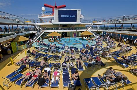 carnival magic deck ten activities for families aboard the carnival magic