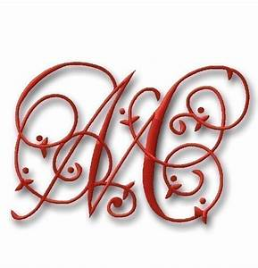 free monogram embroidery fonts free embroidery patterns With free monogram designs