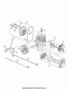 Troy Bilt Tb430 41as99ms766  41as99ms766 Tb430 Parts Diagram For General Assembly
