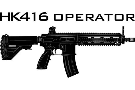 Hk416 Operator Tshirt From Polenar Tactical