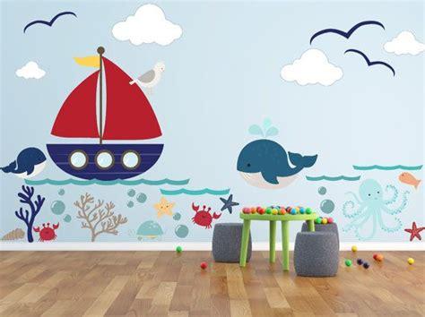 Wandtattoo Kinderzimmer Unterwasserwelt by Kinder Wandtattoos Unterwasserwelt Wal