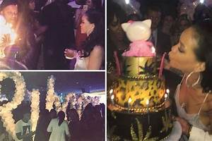 Inside Rihanna's star-studded surprise birthday bash ...