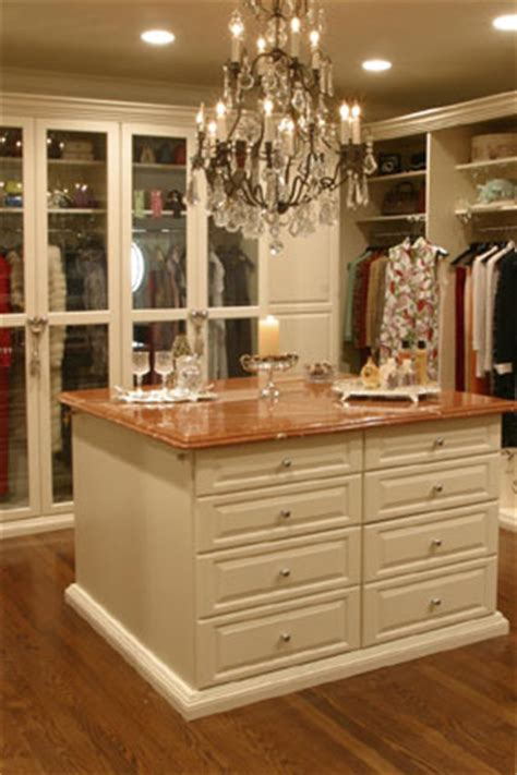 add more closet storage with an island custom closets direct