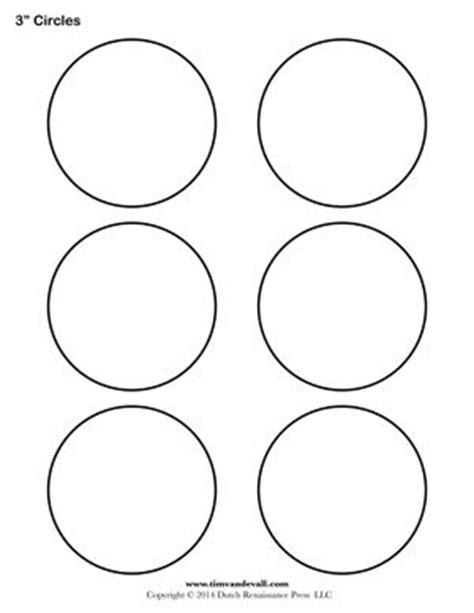 Circle Template 7 Inch Tim 39 S Printables 17 Best Images About Layout Tools On Jewellery