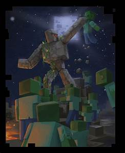 Iron Golem39s Last Stand By DanielPLackey On DeviantArt