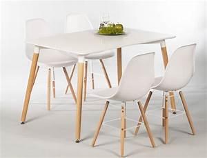 Esstisch Stühle Weiß : tischgruppe esstisch ilka wei 4 st hle ronald wei ~ Michelbontemps.com Haus und Dekorationen
