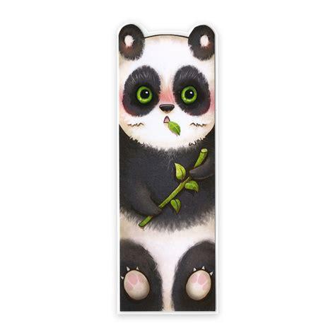 Lesezeichen Panda – Carolin Reich – Illustrationsdesign